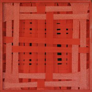 Emilio Cavallini, Red Orderly Striped Attractor 1988
