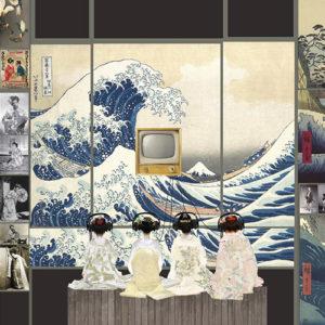 Prima della Scala 2016, le vetrine della Rinascente per la Madama Butterfly