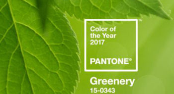 Pantone Color of the Year 2017 - Greenery (codice 15-0343)