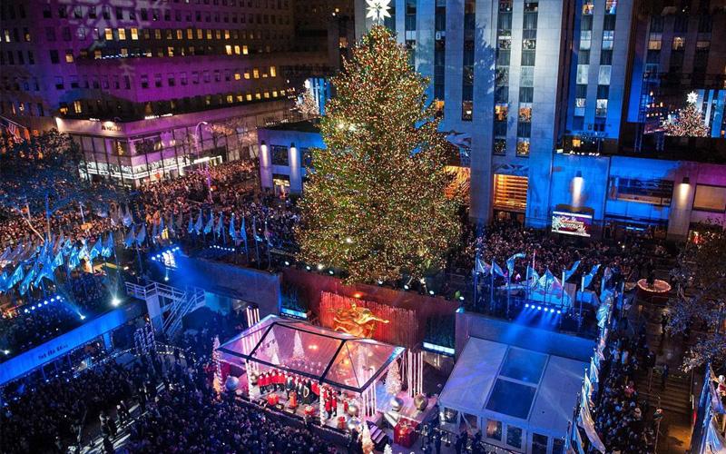 Albero Di Natale Rockefeller Center 2020.Natale 2016 A New York Si Accende L Albero Di Rockefeller