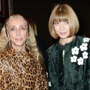 Franca Sozzani e Anna Wintour