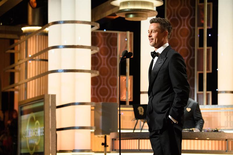 Brad Pitt - Golden Globe 2017