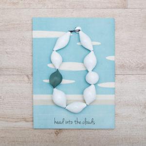 """Collana """"Testa fra le nuvole"""": design by Caterina Zucchi"""