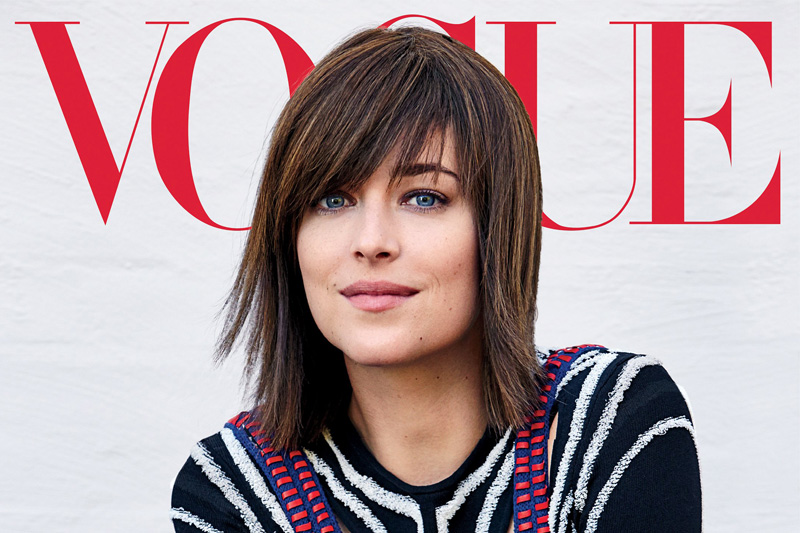 50 Sfumature di nero, Dakota Johnson sexy su Vogue