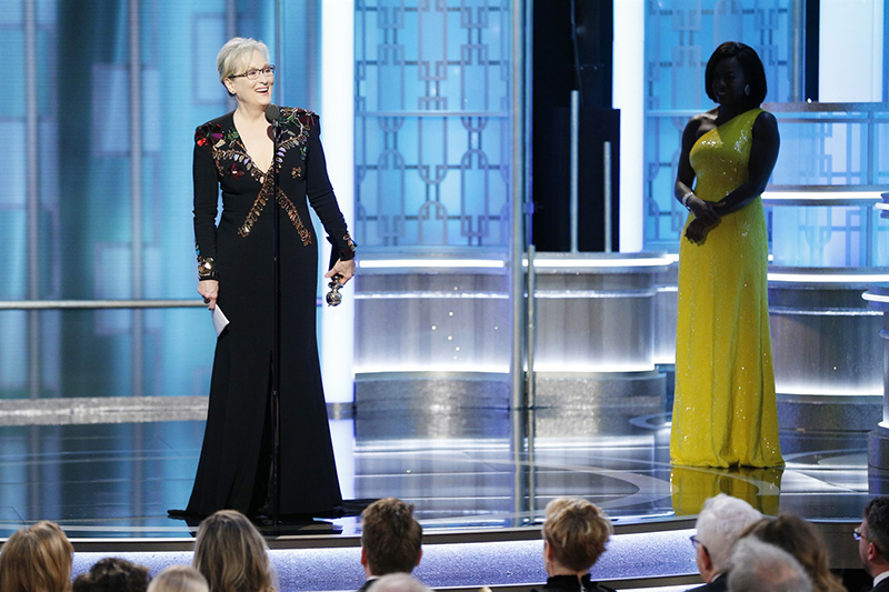 Meryl Streep, Golden Globe 2017