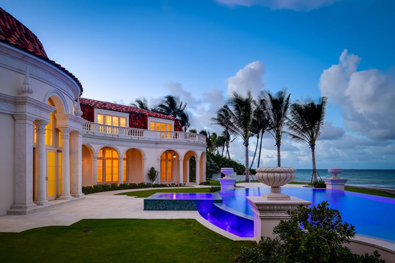 Luxury real estate in vendita una villa di lusso a palm for Disegni di ville di lusso