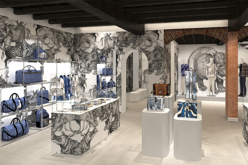 Louis Vuitton, a Milano il primo pop-up store in Italia