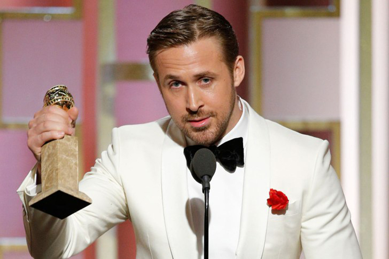 Ryan Gosling, Golden Globe 2017