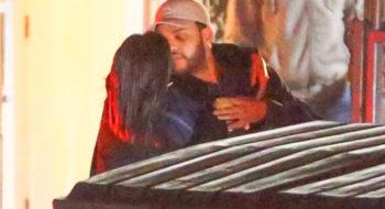 Selena Gomez bacia The Weeknd