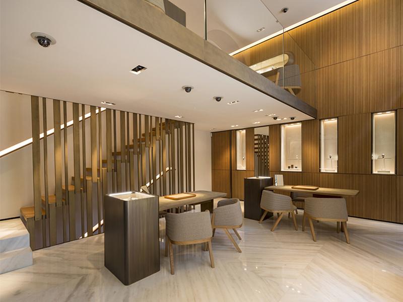 Boutique di lusso scelgono arredamenti made in italy for Arredamenti per hotel di lusso