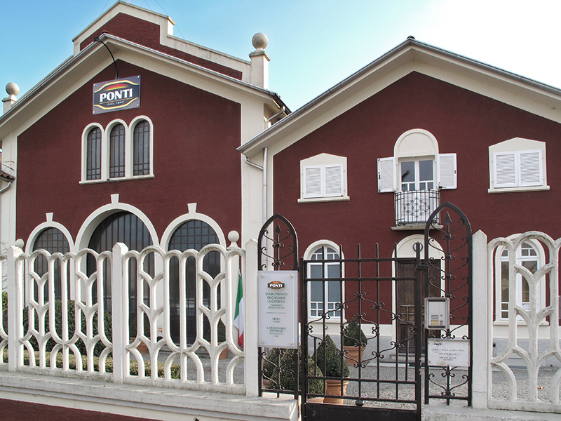 Ponti, quartier generale di Ghemme (Novara)