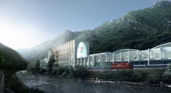 S.Pellegrino Flagship Factory - Biarke Ingels, dello studio internazionale Big