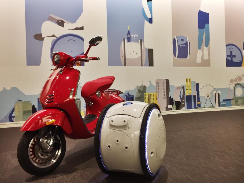 Piaggio Gita e Kilo: le valigie robot che ti seguono ovunque