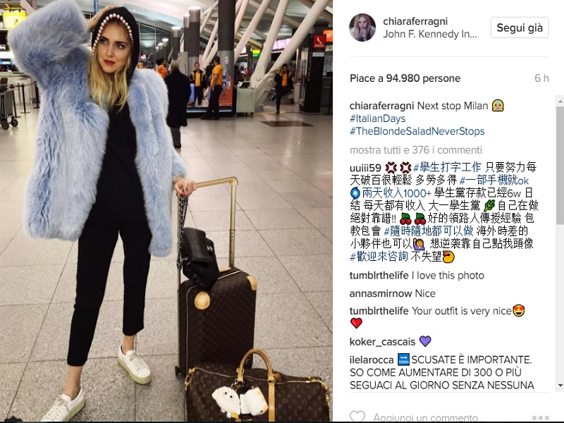 chiara ferragni fedez, chiara ferragni, chiara ferragni milano, chiara ferragni milano fashion week, the blonde salad,
