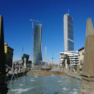 milano citylife, milano fermata tre torri, milano torre isozaki, milano torre hadid, milano torre libeskind,