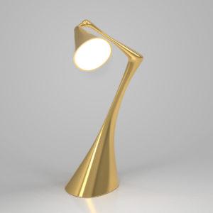 La Dialogo Design, Riccardo Saint-Clair - lampada da tavolo con braccio flessibile