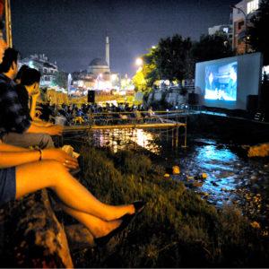 Riverbad Cinema For Dokufest In Prizren, Kosovo.