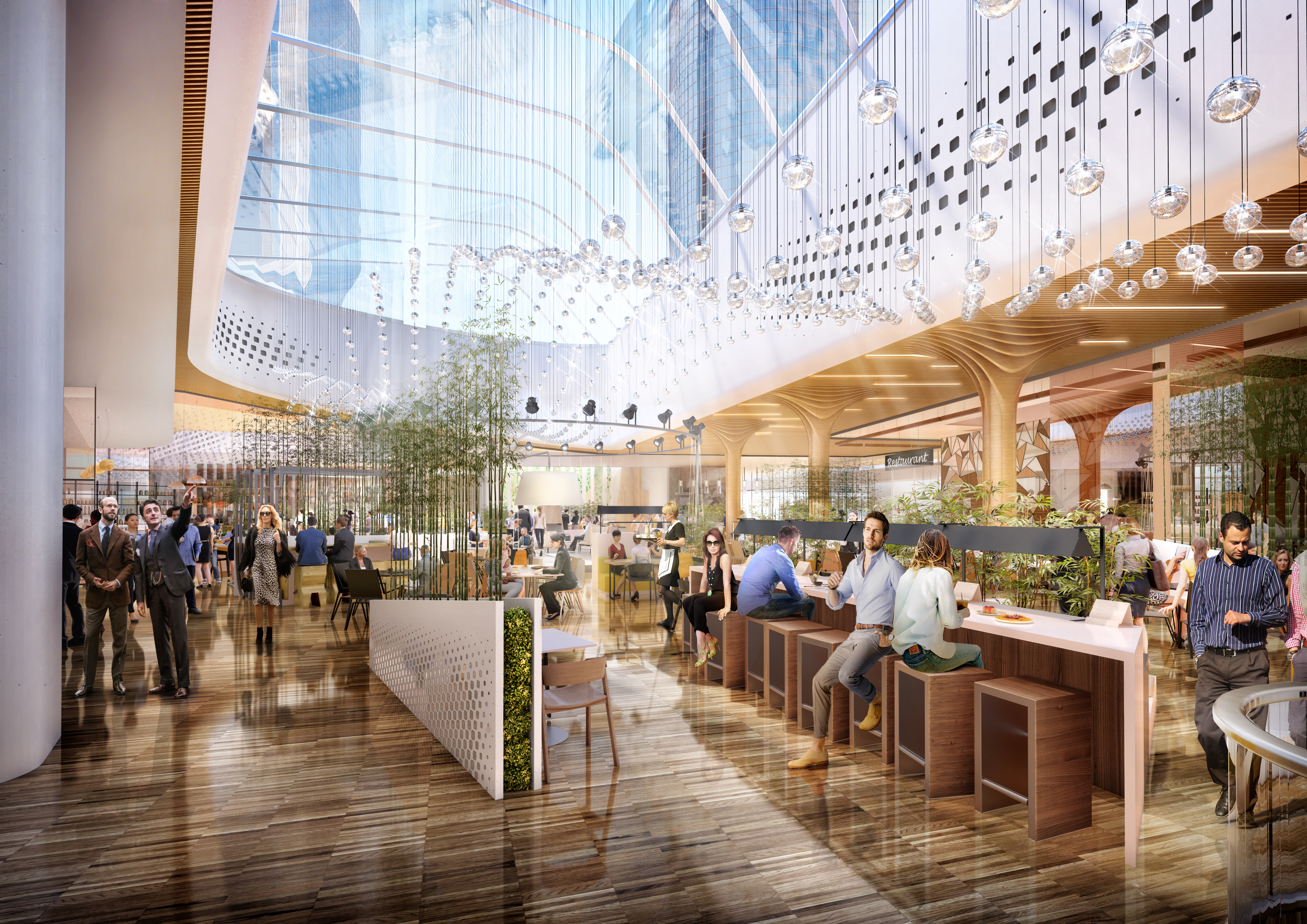 1-citylife-shopping-district_rendering-food-area