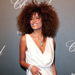 CANNES, FRANCE - MAY 19:  Tina Kunakey attends the Chopard ìSPACE Partyî, hosted by Chopard's co-president Caroline Scheufele and Rihanna, at Port Canto on May 19, 2017, in Cannes, France.  (Photo by Gisela Schober/WireImage) *** Local Caption *** Tina Kunakey