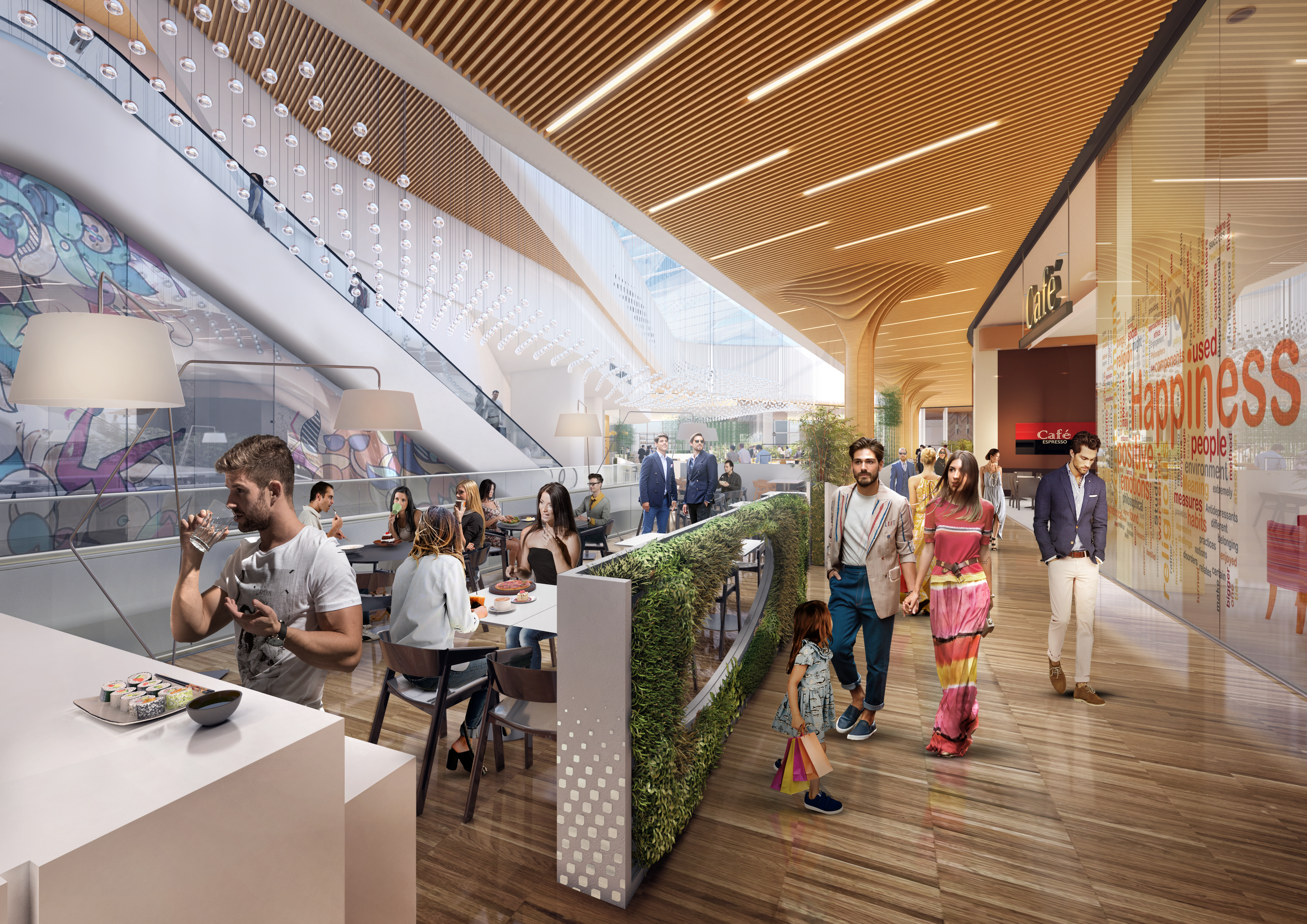 4-citylife-shopping-district_rendering-food-area