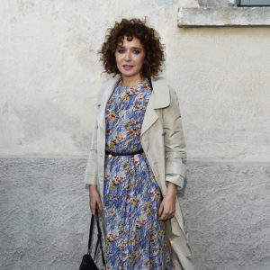 MILAN, ITALY - MAY 07:  Valeria Golino attends a 'Private view of 'TV 70: Francesco Vezzoli Guarda La Rai' at Fondazione Prada on May 7, 2017 in Milan, Italy.  (Photo by Stefania D'Alessandro/Getty Images for Fondazione Prada)