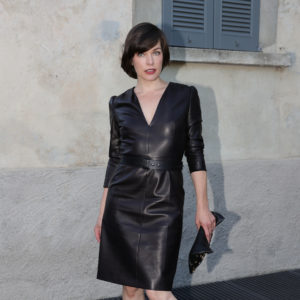 MILAN, ITALY - MAY 07:  Milla Jovovich attends a 'Private view of 'TV 70: Francesco Vezzoli Guarda La Rai' at Fondazione Prada on May 7, 2017 in Milan, Italy.  (Photo by Vittorio Zunino Celotto/Getty Images for Fondazione Prada)