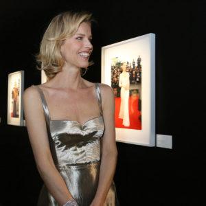 Eva Herzigova - Chopard presenta Glittering Prizes, una mostra esclusiva realizzata in collaborazione con Vogue e curata da Ivan Shaw, corporate photography director di Conde Nast.