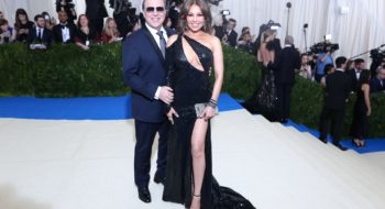 Photo by David Prutting/BFA/REX/Shutterstock (8770834fv)Tommy Mottola, ThaliaThe Costume Institute Benefit celebrating the opening of Rei Kawakubo/Comme des Garcons: Art of the In-Between, Arrivals, The Metropolitan Museum of Art, New York, USA - 01 May 2017