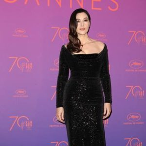 Monica Bellucci in  Vivienne Westwood Couture - Credit: LaPresse