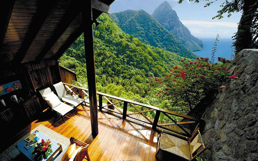 #2 Santa Lucia, Caraibi