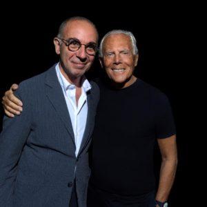 Giuseppe Tornatore e Giorgio Armani by SGP