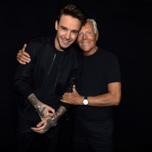 Liam Payne e Giorgio Armani by SGP