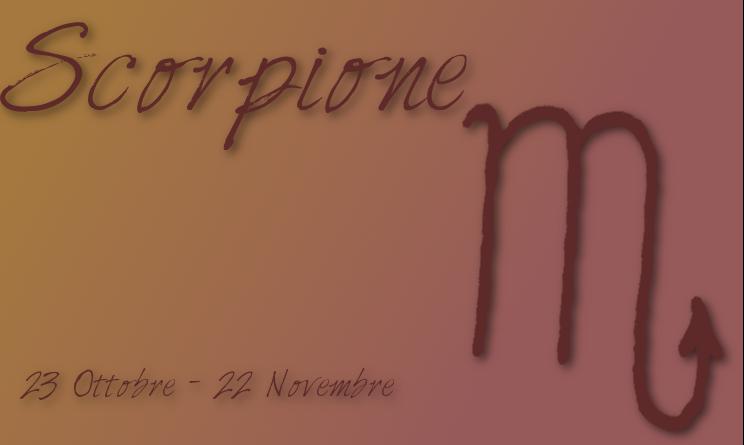 Scorpione Maschio incontri Scorpione femmina