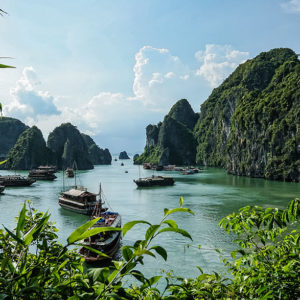 Halong Bay, Vietnam - Credit: Nic