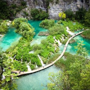 Lago Plitvice, Croazia - Credit: Manu
