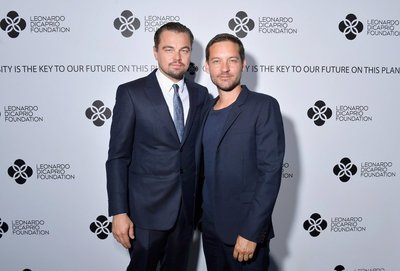 SAINT-TROPEZ, FRANCE - JULY 26:  (L-R) Leonardo DiCaprio and Tobey Maguire attend the cocktail reception of the Leonardo DiCaprio Foundation 4th Annual Saint-Tropez Gala at Domaine Bertaud Belieu on July 26, 2017 in Saint-Tropez, France.  (Photo by Victor Boyko/Getty Images for LDC Foundation) *** Local Caption *** Leonardo DiCaprio;Tobey Maguire