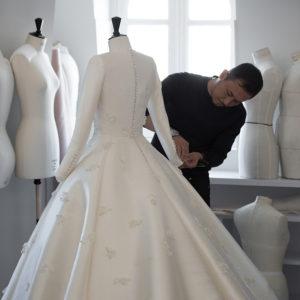 ©Sophie Carre - Dior per il matrimonio di Miranda Kerr