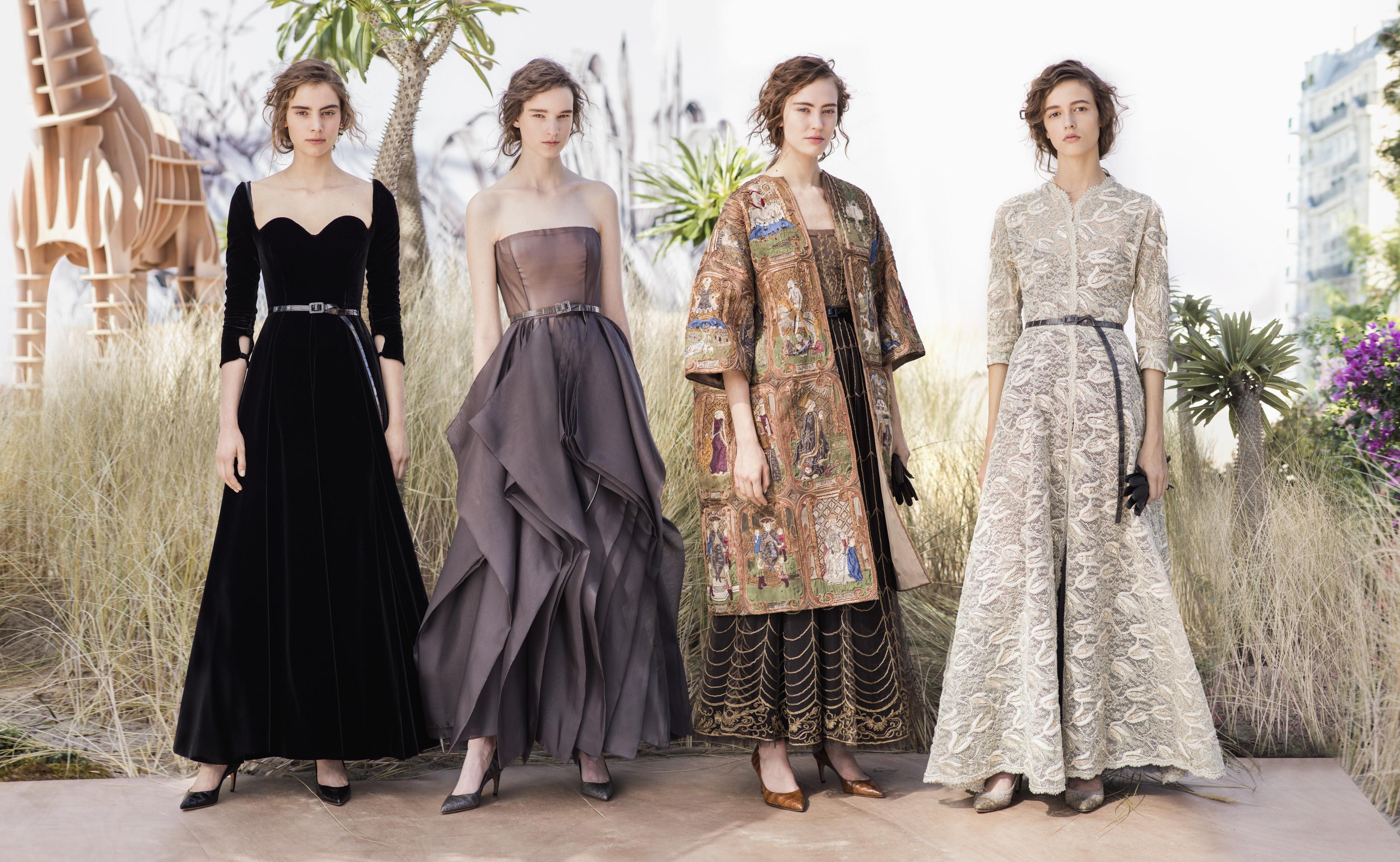 7df74f97c1eb Dior Haute Couture A I 2017-2018  una donna esploratrice e una pioggia di  star (foto)