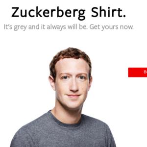 marck zuckerberg maglia