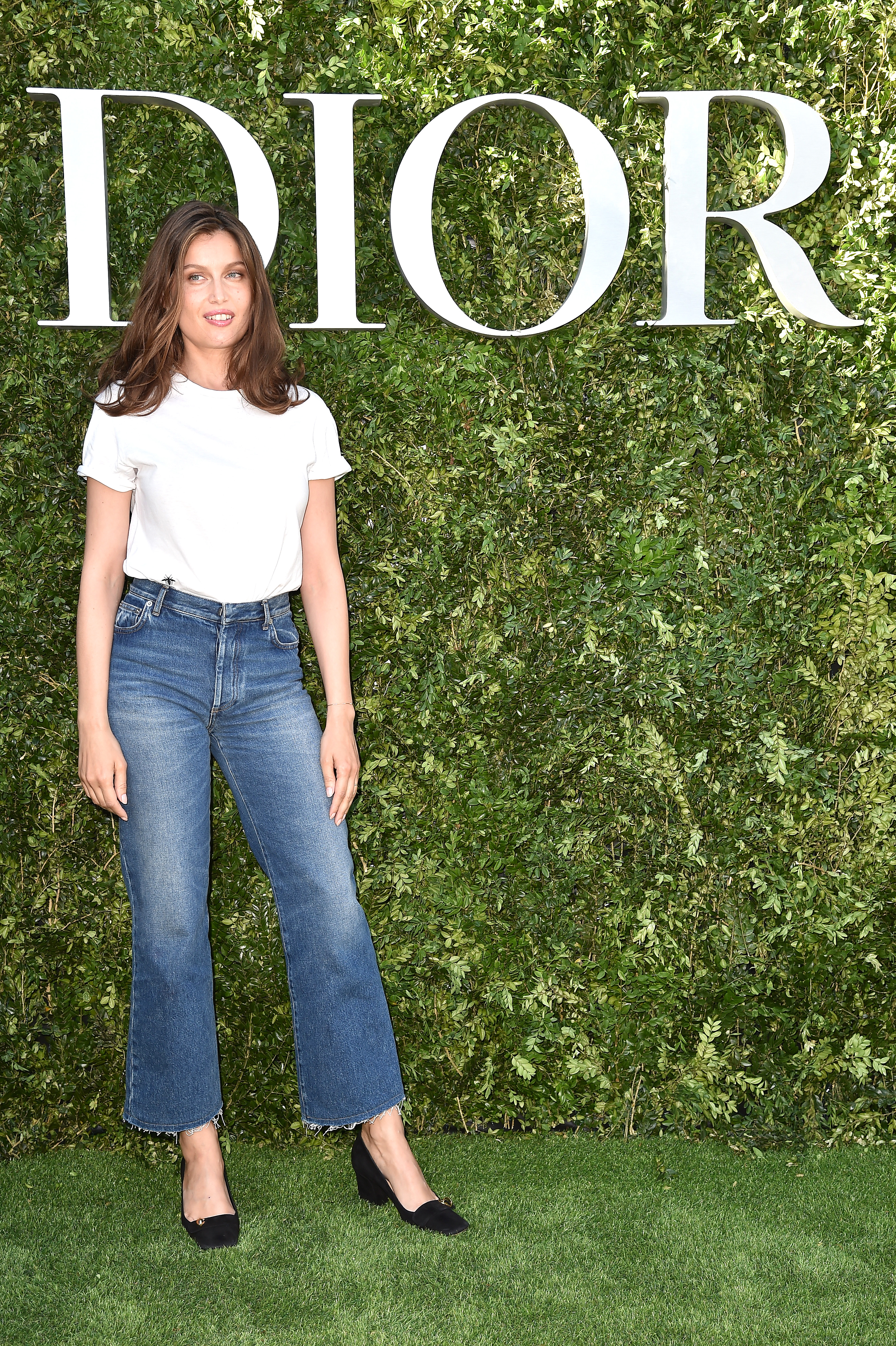 PARIS, FRANCE - JULY 03:  Laetitia Casta attends 'Christian Dior, couturier du reve' Exhibition Launch celebrating 70 years of creation  at Musee Des Arts Decoratifs on July 3, 2017 in Paris, France.  (Photo by Jacopo Raule/Getty Images for Christian Dior) *** Local Caption *** Laetitia Casta