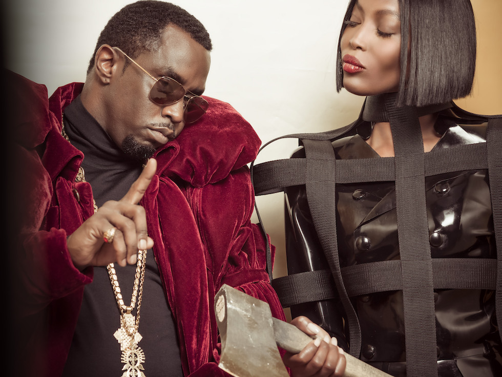 Sean Diddy Combs, Naomi Campbell (Pirelli)