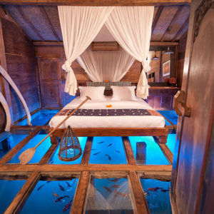 The Glass Floor Udang House - Bali, Indonesia