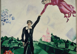 Chagall, Marc (1887-1985): The Stroll. St. Petersburg, Russian State Museum*** Permission for usage must be provided in writing from Scala.