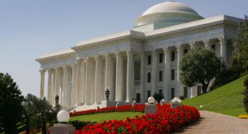 Mausoleo del Bab HaifaCourtesy of GAGLIARDI & PARTNERS Relazioni Pubbliche ed Eventi