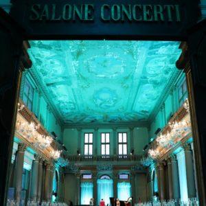 Il Salone Concerti, location della cena di gala - Courtesy of Grazia Lotti Relazioni Pubbliche