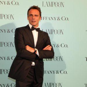 L'attore Alessandro Preziosi indossa orologio Tiffany & Co - Courtesy of Grazia Lotti Relazioni Pubbliche
