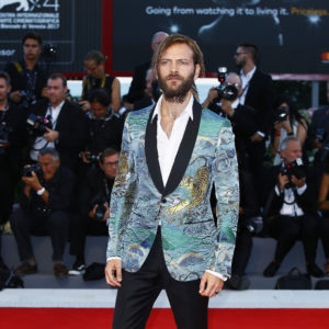 VENICE, ITALY - SEPTEMBER 05:  Alessandro Borghi walks the red carpet ahead of the 'Mother!' screening during the 74th Venice Film Festival at Sala Grande on September 5, 2017 in Venice, Italy.  (Photo by Ernesto Ruscio/Getty Images)