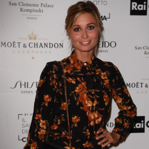 Anna Ferzetti durante il Charity Party con Moët & Chandon
