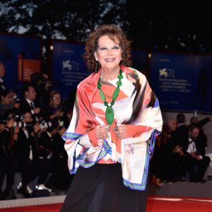 VENICE, ITALY - SEPTEMBER 03: Claudia Cardinale from Kineo delegation walks the red carpet ahead of the 'The Leisure Seeker (Ella & John)' screening during the 74th Venice Film Festival at Sala Grande on September 3, 2017 in Venice, Italy.  (Photo by Pascal Le Segretain/Getty Images)
