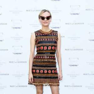 VENICE, ITALY - SEPTEMBER 06:  Diane Kruger attends the European Filmmakers Lunch during the 74th Venice Film Festival at San Clemente Palace Hotel on September 6, 2017 in Venice, Italy.  (Photo by Ernesto Ruscio/Getty Images)